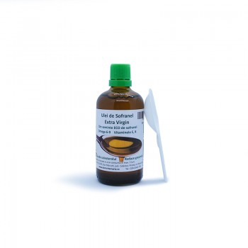 Extra virgin safflower oil...