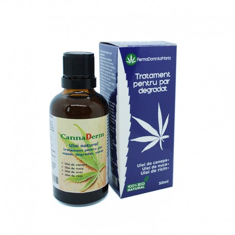 Organic oil treatment - for degraded/dyed hair